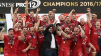 Scarlets win the Pro12 title