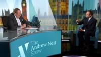 Andrew Neil and Tom Tugendhat