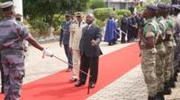 Le président a été vu pour la dernière fois en public le 17 août alors que le pays célébrait la fête de l'indépendance.