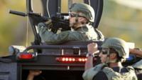 Swat team members