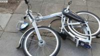 Damaged bike