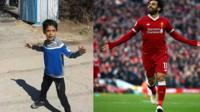 Watch as this 7-year-old boy from Iran emulates his hero Mo Salah with some amazing skills.