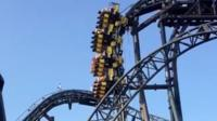 Riders stuck on stopped Smiler ride at Alton Towers