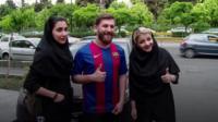 Messi lookalike