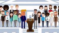 Trump animation