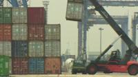 Port in Jakarta