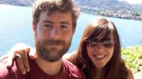 Michael O'Connor and girlfriend Sara Badel