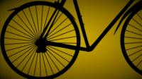 Graphic of a bike