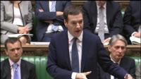 George Osborne at PMQs