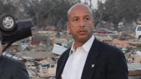 Mayor Ray Nagin was heavily critical of the lack of aid from the federal government in the first days after Hurricane Katrina hit New Orleans