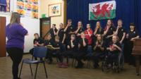 Sign of the Times was formed to support a profoundly deaf pupil