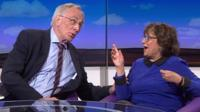 Peter Bone and Yasmin Alibhai-Brown.