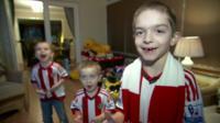 Shippey children in football kit