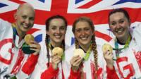 Joanna Rowsell Shand wins Olympic gold