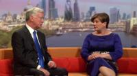 Emily Thornberry and Michael Fallon