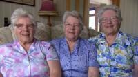 Mary, Margaret and Georgina Bloxham