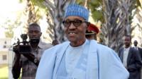 File photo of Muhammadu Buhari
