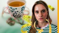 Emma Whittaker and a cup of tea