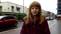 Lily, who is campaigning to reduce air pollution in Bristol
