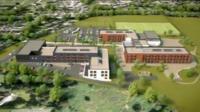 CAD design of new school