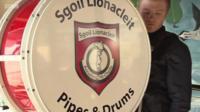 Sgoil Lionacleit Pipe Band
