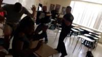 Florida police enters classroom