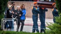 Похороны жертв стрельбы в Керчи