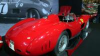 A rare Ferrari 335 Sport Scaglietti is expected to fetch millions of euros at auction