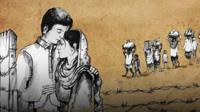 Animation of Ismat and Jeetu