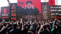 Televised speech by Hassan Nasrallah to Hezbollah supporters in Beirut, Lebanon, on 20 September 2018