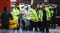 Injured after Westminster Attack