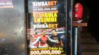 Gambling poster in Uganda