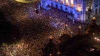 Crowds in Rio de Janeiro