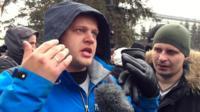 Kemerovo protester