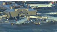 Planes at Calgary airport