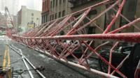New York crane collapse