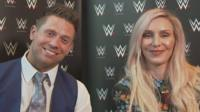 The Miz and Charlotte Flair