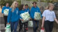 Newcastle's West End Foodbank had made a desperate appeal for supplies.