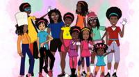 Cartoon depicts black Canadian students