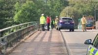 River Taff incident