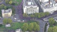 People's Vote march in Central London