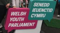 Welsh Youth Parliament sign