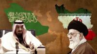 Ayatollah Khamenei and King Salman