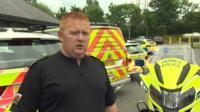 Sgt Trystan Bevan of North Wales Police