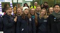 Junior doctor choir