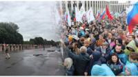 Кто пришел на акцию оппозиции и музыкально-гастрономический фестиваль