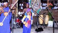 Bernard Ndoreyicimpa (i buryo) asize umukenyezi n'abana babiri