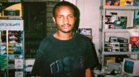 Amadou Diallo is shown in the undated photograph