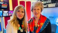 Prime Minister Theresa May takes calls on the BBC News Channel and BBC Radio 5 Live in a special programme presented by Emma Barnett.