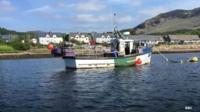 Fishing boat on Loch Fyne